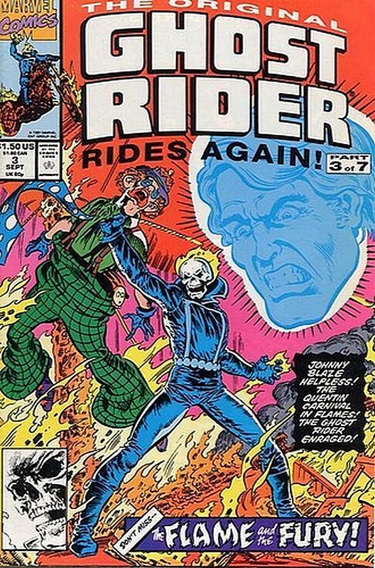 Cover of Original Ghost Rider Rides Again (1991 Ltd) #3. One of 250,000 Vintage American Comics on sale from Krypton!