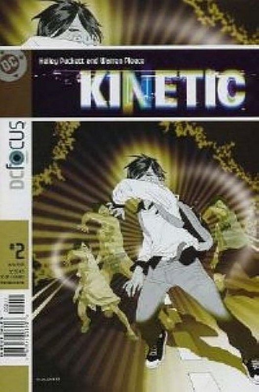 Cover of Kinetic (Vol 1) #2. One of 250,000 Vintage American Comics on sale from Krypton!