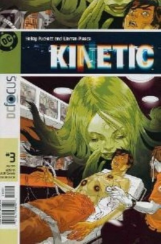 Cover of Kinetic (Vol 1) #3. One of 250,000 Vintage American Comics on sale from Krypton!