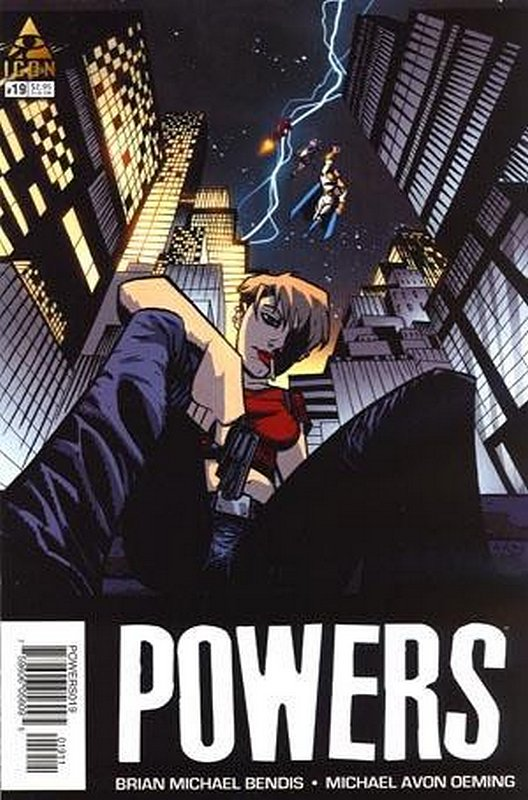 Cover of Powers (Vol 2) #19. One of 250,000 Vintage American Comics on sale from Krypton!