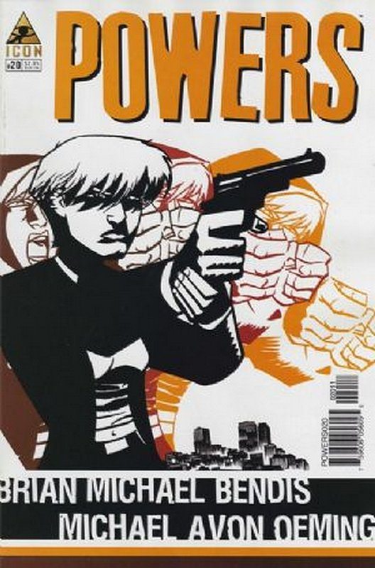 Cover of Powers (Vol 2) #20. One of 250,000 Vintage American Comics on sale from Krypton!