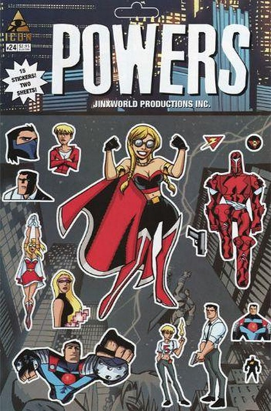 Cover of Powers (Vol 2) #24. One of 250,000 Vintage American Comics on sale from Krypton!
