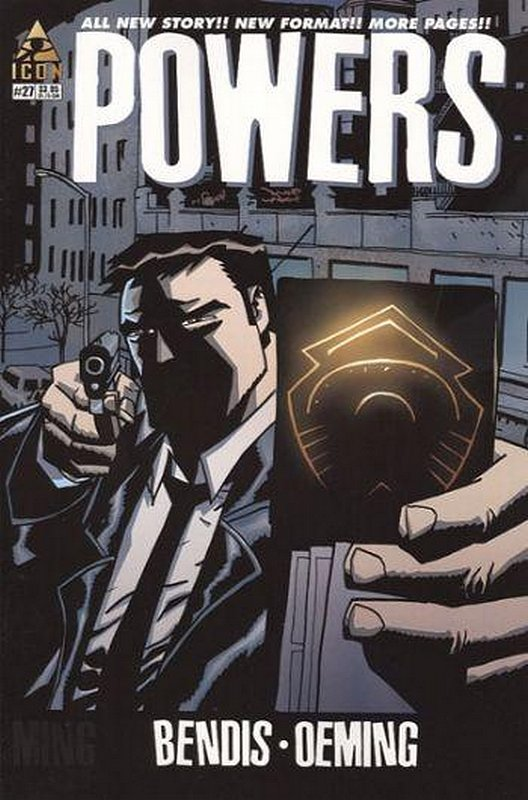 Cover of Powers (Vol 2) #27. One of 250,000 Vintage American Comics on sale from Krypton!