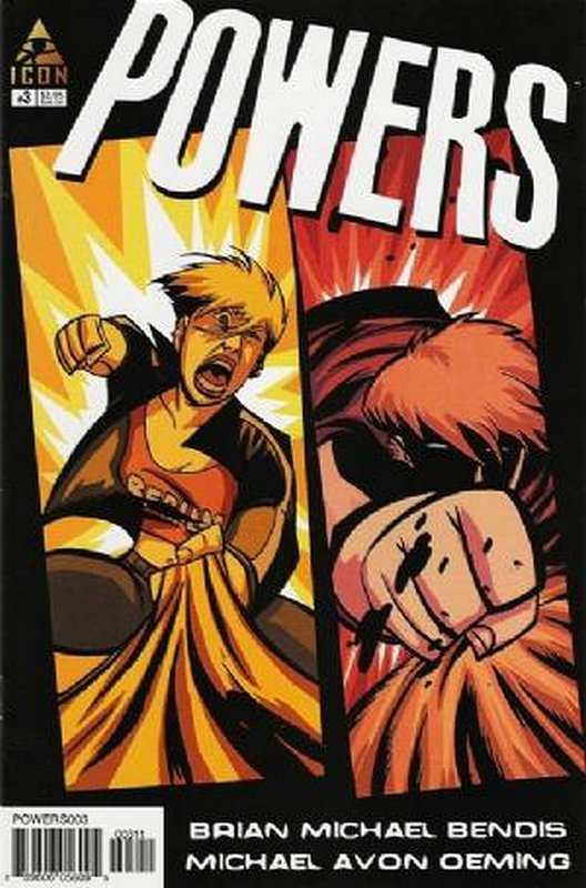 Cover of Powers (Vol 2) #3. One of 250,000 Vintage American Comics on sale from Krypton!