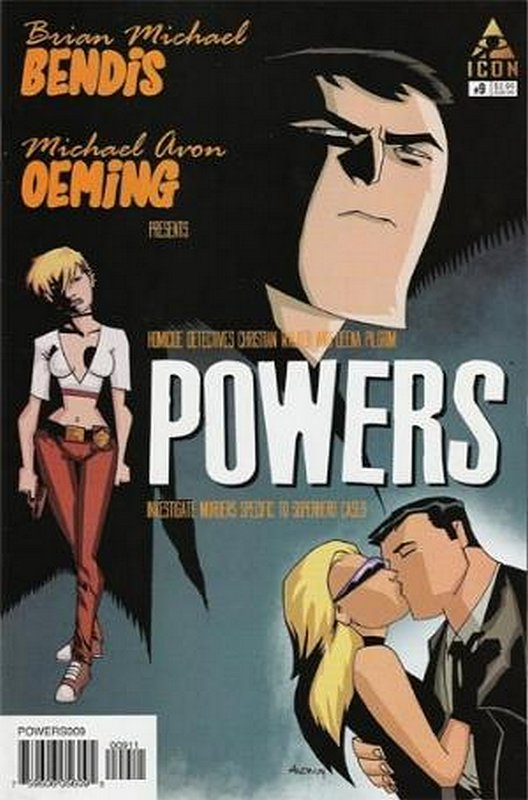 Cover of Powers (Vol 2) #9. One of 250,000 Vintage American Comics on sale from Krypton!