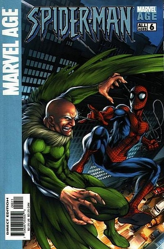 Cover of Marvel Age: Spider-Man (Vol 1) #6. One of 250,000 Vintage American Comics on sale from Krypton!