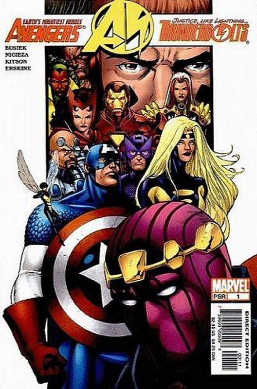 Cover of Avengers/Thunderbolts (2004 Ltd) #1. One of 250,000 Vintage American Comics on sale from Krypton!