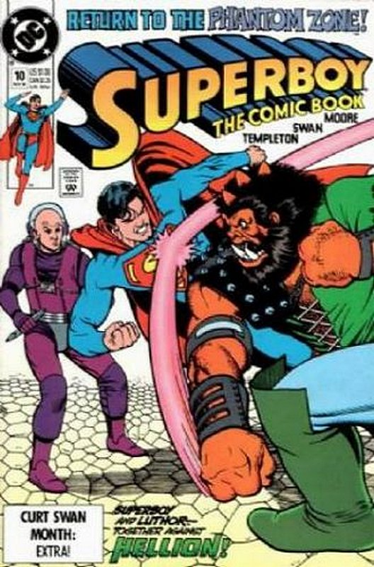 Cover of Superboy (Vol 2) #10. One of 250,000 Vintage American Comics on sale from Krypton!