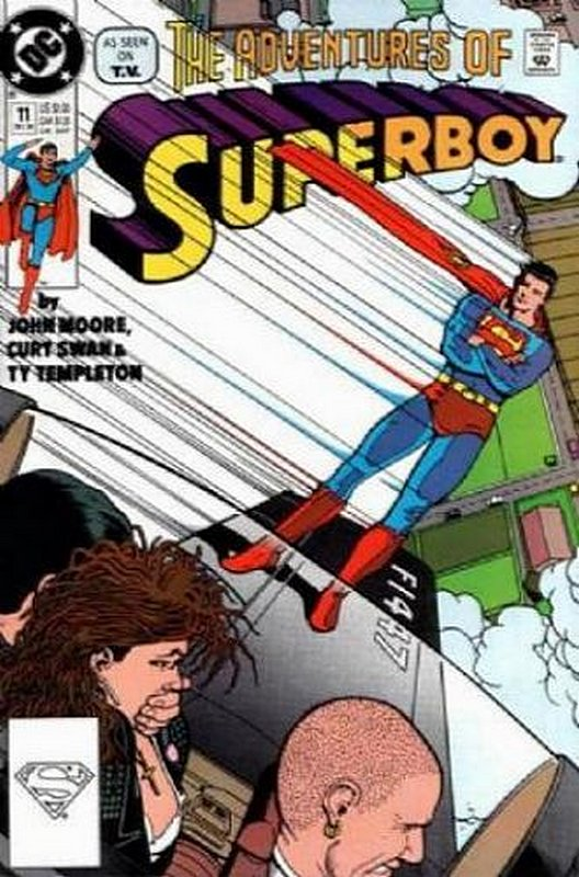 Cover of Superboy (Vol 2) #11. One of 250,000 Vintage American Comics on sale from Krypton!