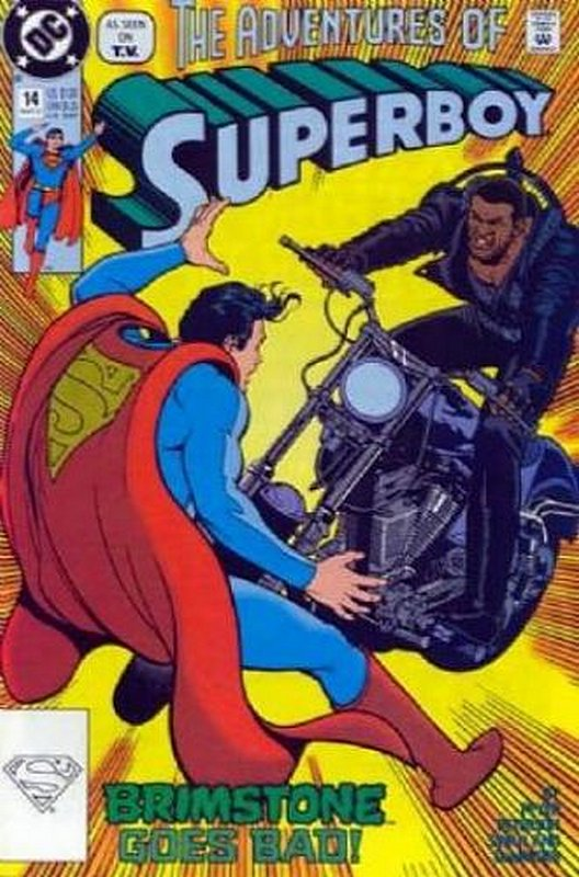 Cover of Superboy (Vol 2) #14. One of 250,000 Vintage American Comics on sale from Krypton!