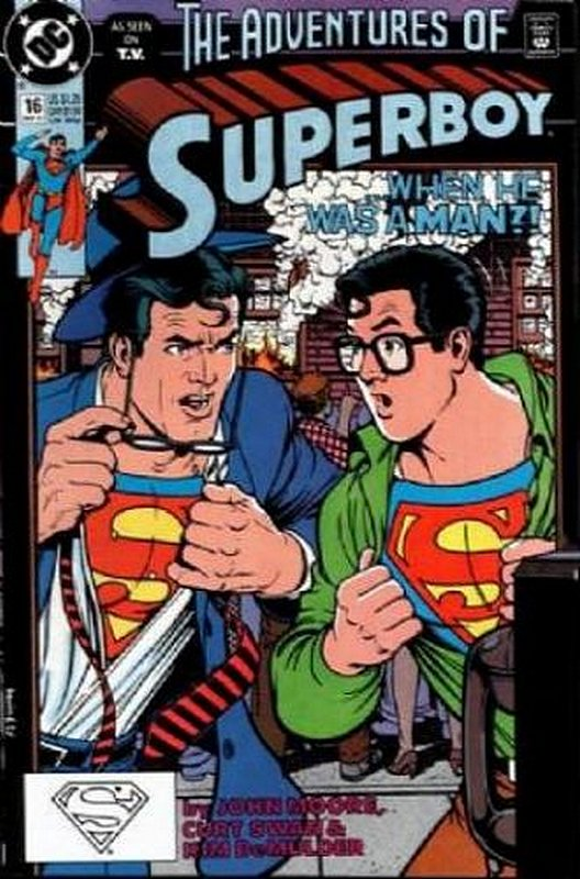 Cover of Superboy (Vol 2) #16. One of 250,000 Vintage American Comics on sale from Krypton!