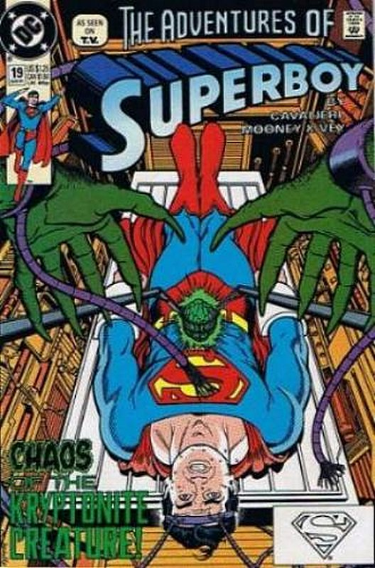 Cover of Superboy (Vol 2) #19. One of 250,000 Vintage American Comics on sale from Krypton!
