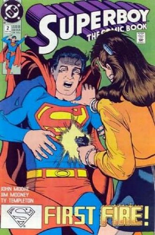 Cover of Superboy (Vol 2) #2. One of 250,000 Vintage American Comics on sale from Krypton!