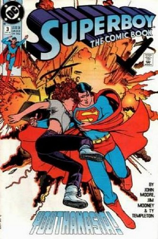 Cover of Superboy (Vol 2) #3. One of 250,000 Vintage American Comics on sale from Krypton!
