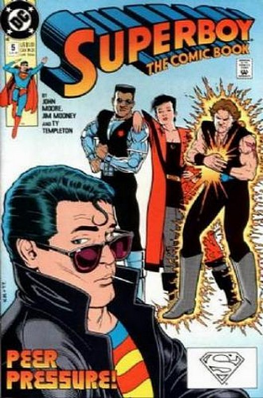 Cover of Superboy (Vol 2) #5. One of 250,000 Vintage American Comics on sale from Krypton!