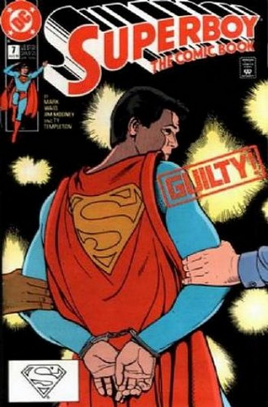 Cover of Superboy (Vol 2) #7. One of 250,000 Vintage American Comics on sale from Krypton!