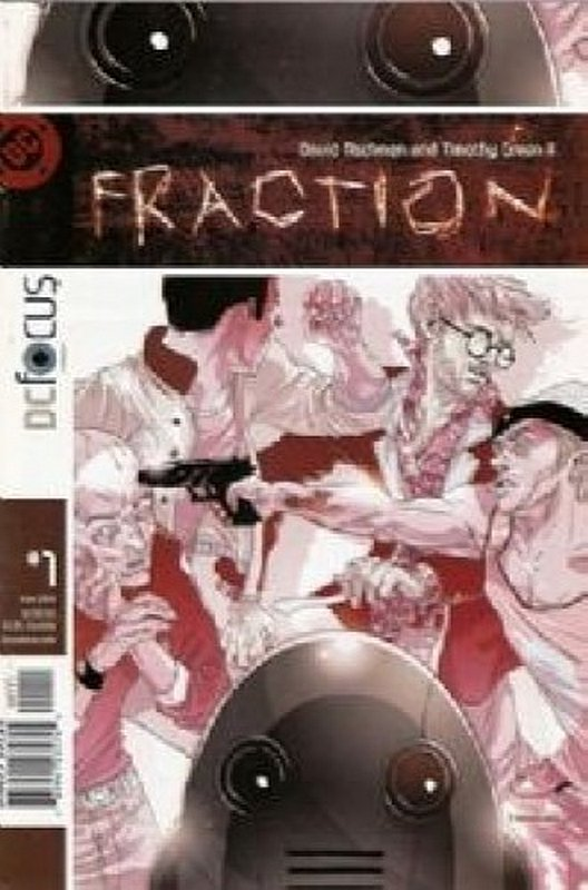 Cover of Fraction (Vol 1) #1. One of 250,000 Vintage American Comics on sale from Krypton!