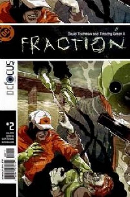 Cover of Fraction (Vol 1) #2. One of 250,000 Vintage American Comics on sale from Krypton!