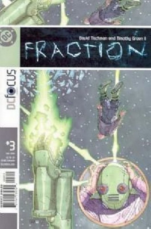 Cover of Fraction (Vol 1) #3. One of 250,000 Vintage American Comics on sale from Krypton!