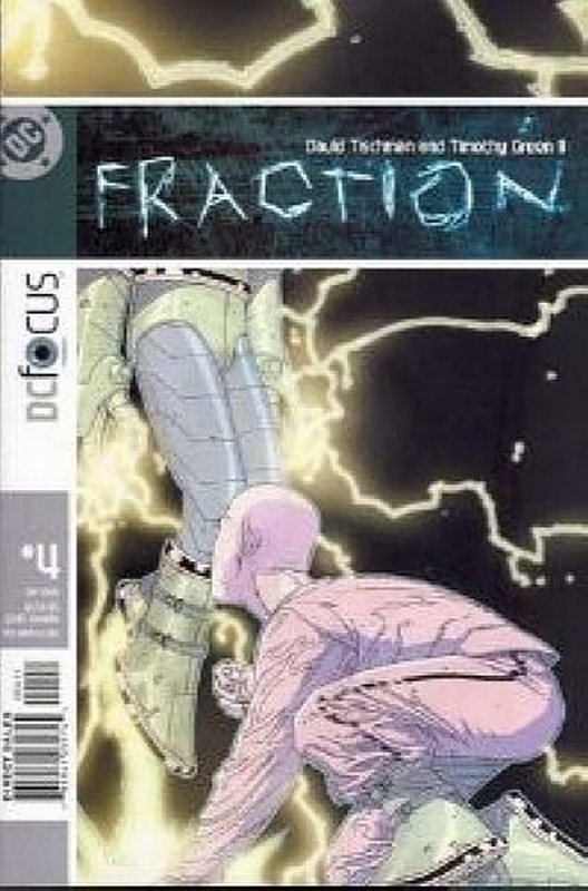 Cover of Fraction (Vol 1) #4. One of 250,000 Vintage American Comics on sale from Krypton!