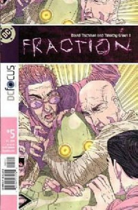 Cover of Fraction (Vol 1) #5. One of 250,000 Vintage American Comics on sale from Krypton!