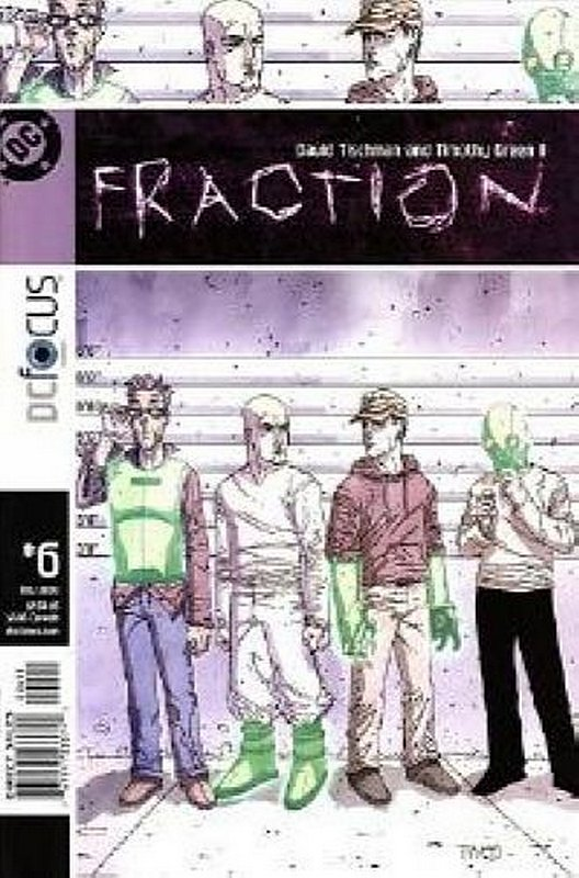 Cover of Fraction (Vol 1) #6. One of 250,000 Vintage American Comics on sale from Krypton!