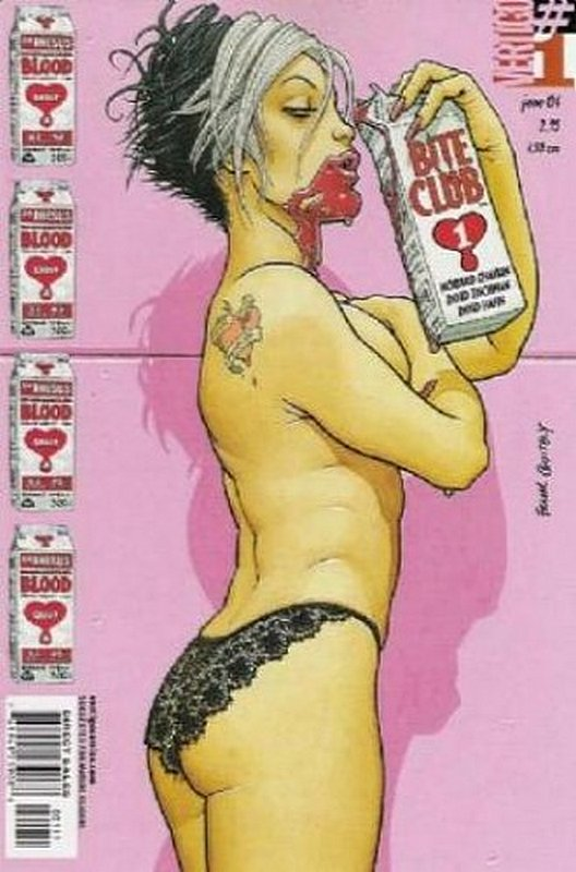Cover of Bite Club (2004 Ltd) #1. One of 250,000 Vintage American Comics on sale from Krypton!