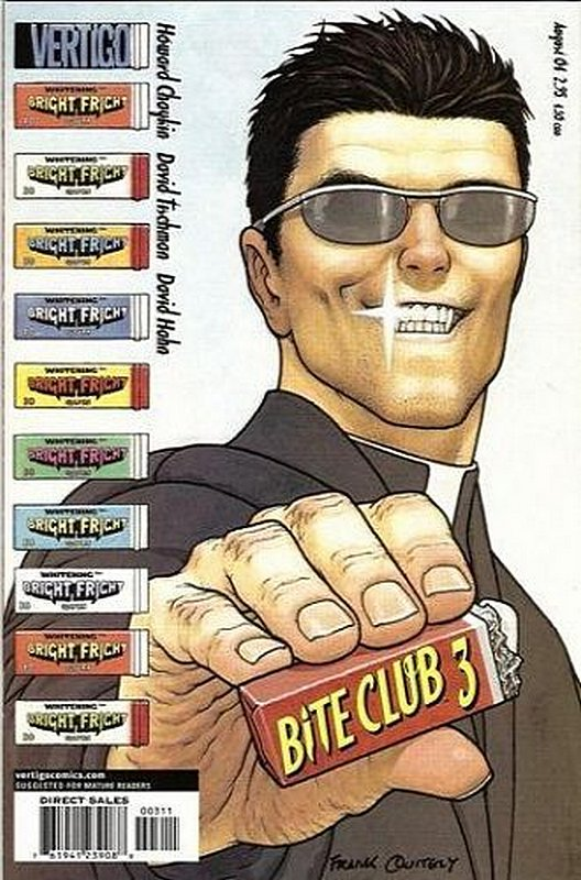 Cover of Bite Club (2004 Ltd) #3. One of 250,000 Vintage American Comics on sale from Krypton!