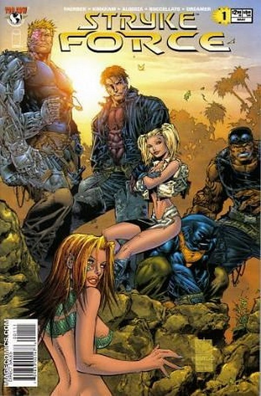 Cover of Stryke Force (2004 Ltd) #1. One of 250,000 Vintage American Comics on sale from Krypton!