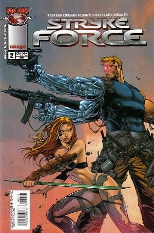 Cover of Stryke Force (2004 Ltd) #2. One of 250,000 Vintage American Comics on sale from Krypton!