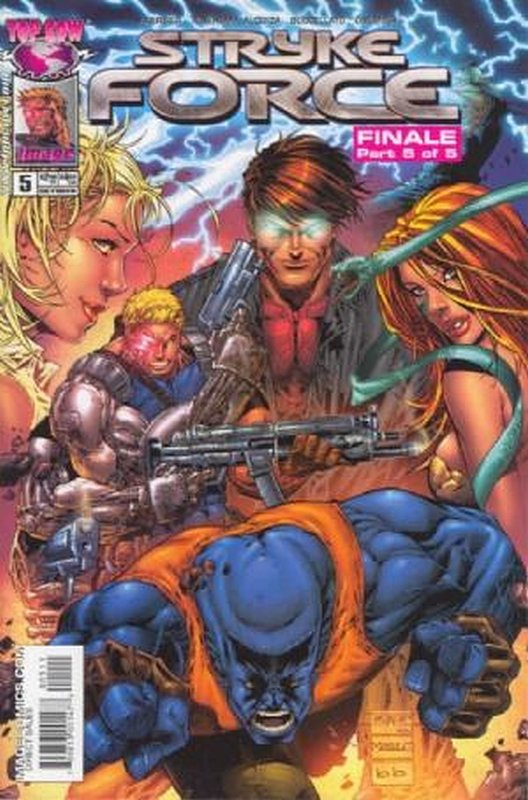 Cover of Stryke Force (2004 Ltd) #5. One of 250,000 Vintage American Comics on sale from Krypton!