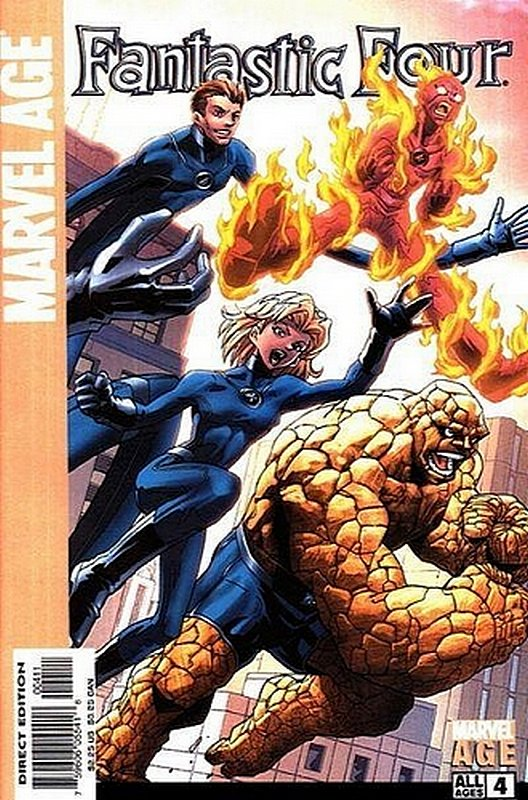 Cover of Marvel Age: Fantastic Four (Vol 1) #4. One of 250,000 Vintage American Comics on sale from Krypton!