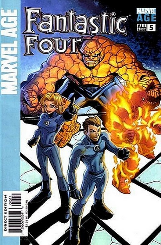 Cover of Marvel Age: Fantastic Four (Vol 1) #5. One of 250,000 Vintage American Comics on sale from Krypton!