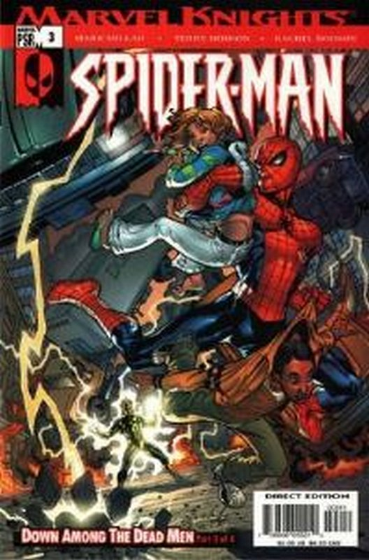 Cover of Marvel Knights: Spider-Man #3. One of 250,000 Vintage American Comics on sale from Krypton!