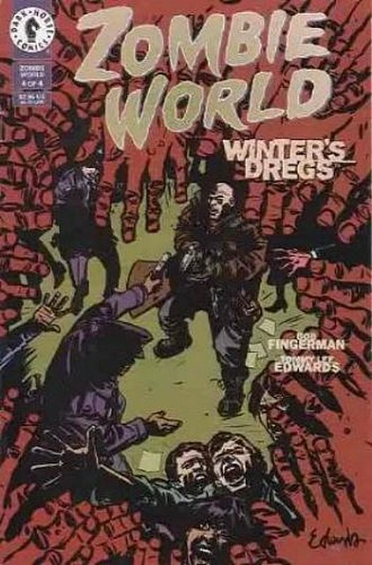 Cover of Zombie World: Winters Dregs (1998 Ltd) #4. One of 250,000 Vintage American Comics on sale from Krypton!