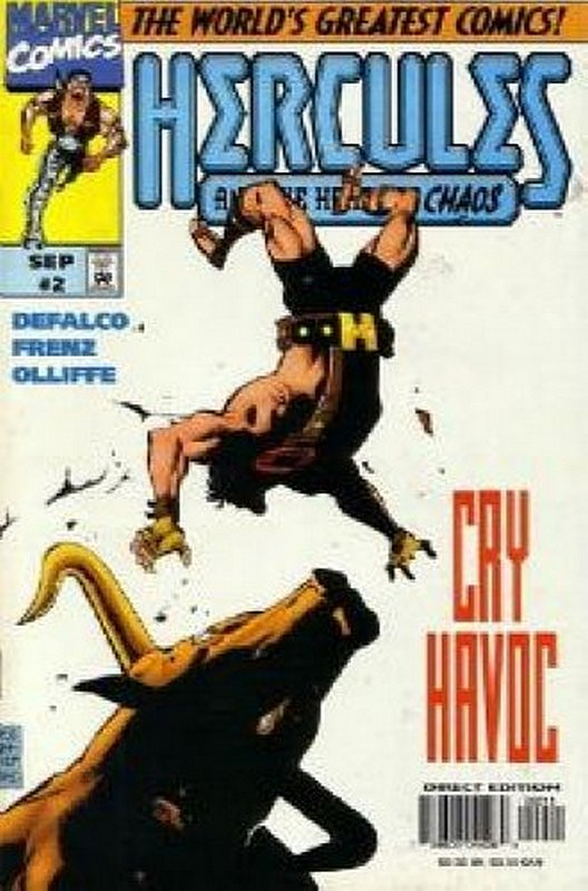 Cover of Hercules: Heart of Chaos #2. One of 250,000 Vintage American Comics on sale from Krypton!