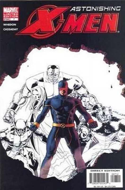Cover of Astonishing X-Men (Vol 1) #7. One of 250,000 Vintage American Comics on sale from Krypton!