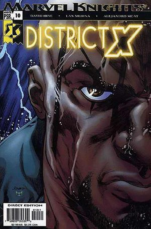 Cover of District X (Vol 1) #10. One of 250,000 Vintage American Comics on sale from Krypton!