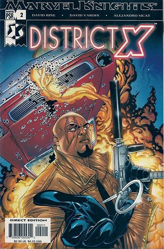 Cover of District X (Vol 1) #2. One of 250,000 Vintage American Comics on sale from Krypton!