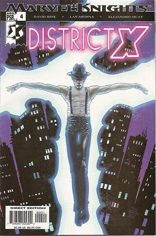 Cover of District X (Vol 1) #4. One of 250,000 Vintage American Comics on sale from Krypton!