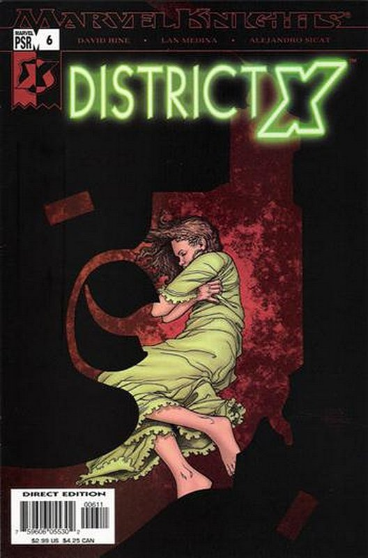 Cover of District X (Vol 1) #6. One of 250,000 Vintage American Comics on sale from Krypton!
