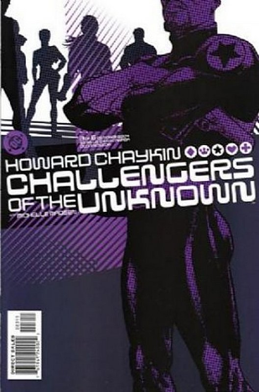 Cover of Challengers of the Unknown (Ltd 2004) #3. One of 250,000 Vintage American Comics on sale from Krypton!