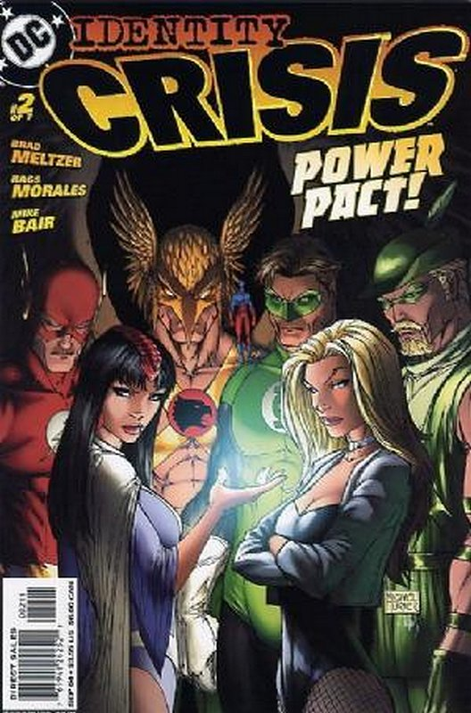 Cover of Identity Crisis (2004 Ltd) #2. One of 250,000 Vintage American Comics on sale from Krypton!