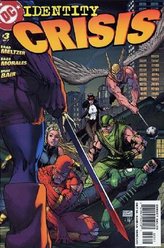 Cover of Identity Crisis (2004 Ltd) #3. One of 250,000 Vintage American Comics on sale from Krypton!