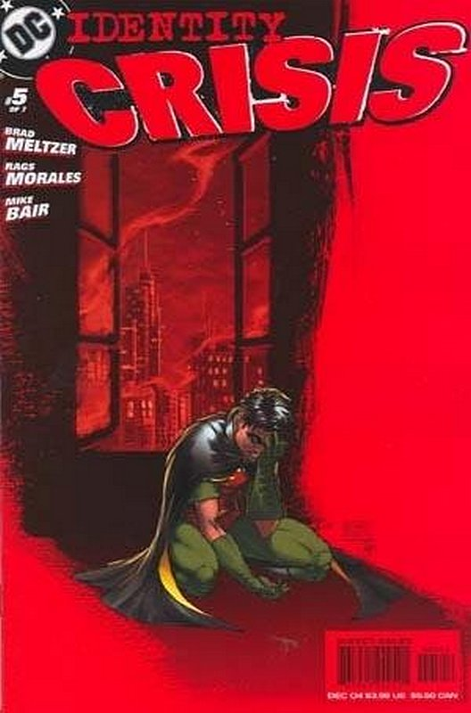 Cover of Identity Crisis (2004 Ltd) #5. One of 250,000 Vintage American Comics on sale from Krypton!