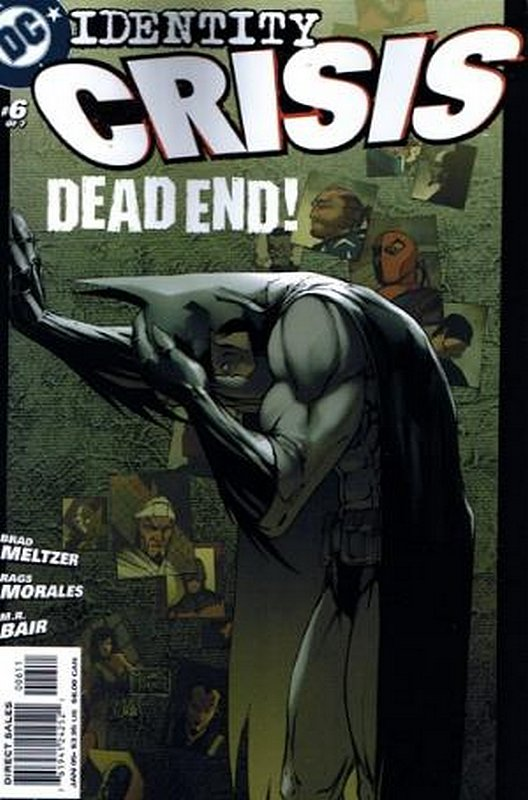 Cover of Identity Crisis (2004 Ltd) #6. One of 250,000 Vintage American Comics on sale from Krypton!