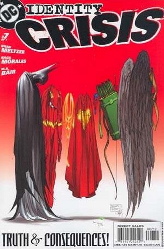 Cover of Identity Crisis (2004 Ltd) #7. One of 250,000 Vintage American Comics on sale from Krypton!