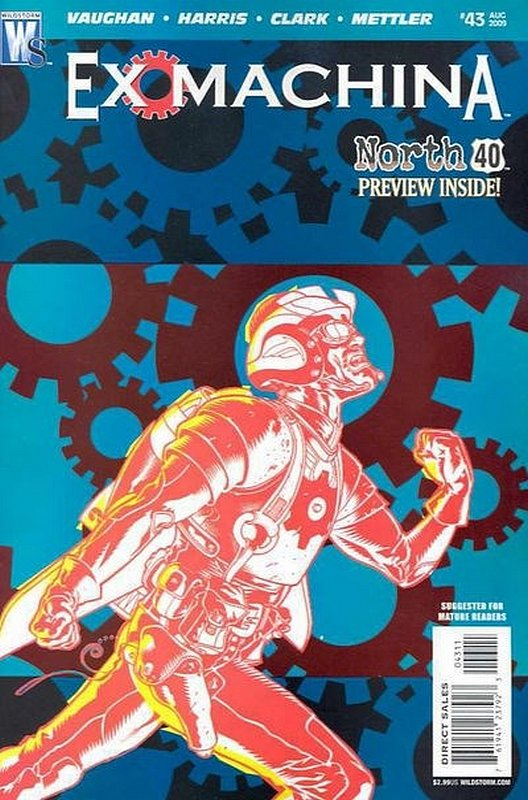 Cover of Ex Machina (Vol 1) #43. One of 250,000 Vintage American Comics on sale from Krypton!
