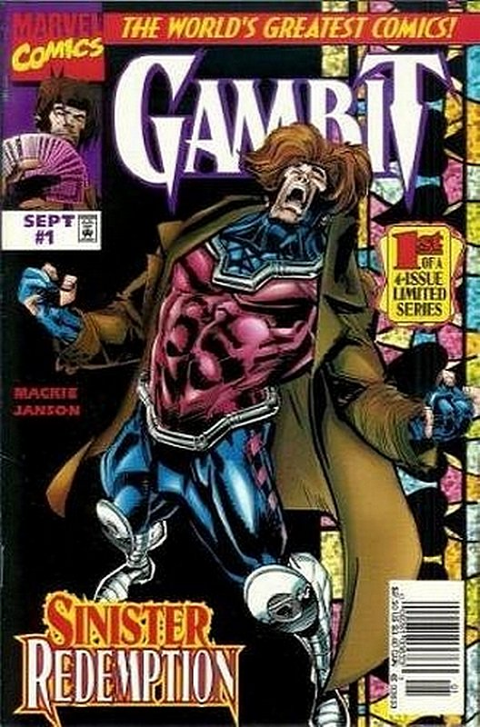 Cover of Gambit (1997 Ltd) #1. One of 250,000 Vintage American Comics on sale from Krypton!