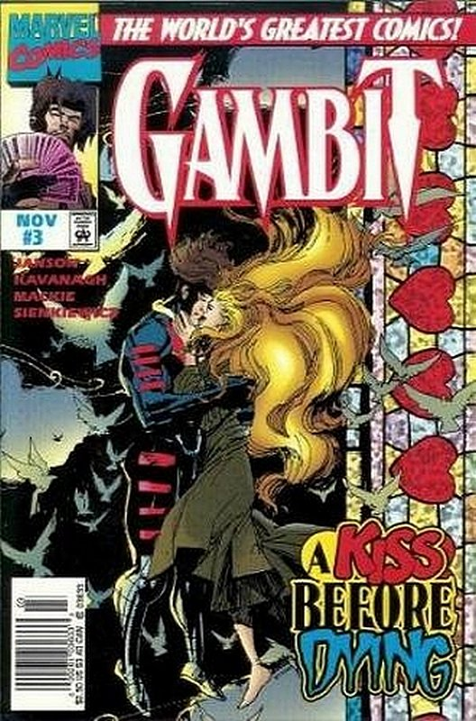 Cover of Gambit (1997 Ltd) #3. One of 250,000 Vintage American Comics on sale from Krypton!